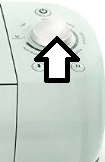 Image of the dial on a Cricut machine