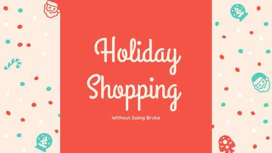 Holiday Shopping without Going Broke