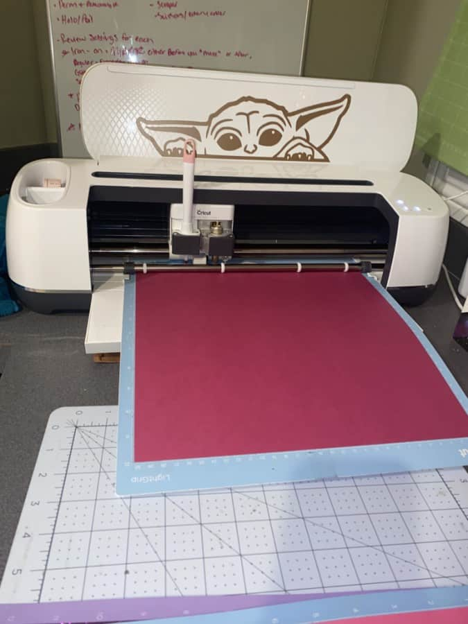 image of Cicut Maker with mat loaded